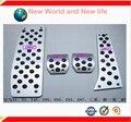 Free Shipping  For X1 E46 E90 E92 E93 E87  Aluminum Alloy MT Pedal Foot Rest Brake Gas Fuel Pedals PadsNew series M LOGO 4PCS