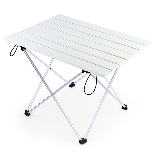 Portable Outdoor Bbq Camping Picnic Folding Table Lightweight Aluminum Alloy Embly Modern Design Tables