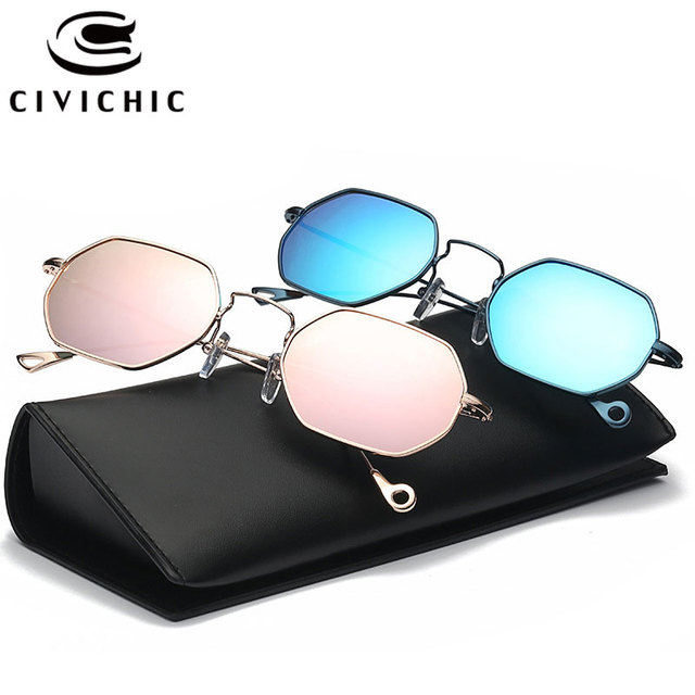 Us 11 22 19 Off Civichic 2017 New Personalized Sunglasses 15 Colors Mirror Glasses Couples Small Square Specs Street Trendsetter Snap Gafas E313 In