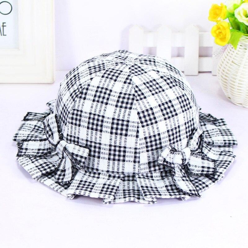 ₪DALI del verano del bebé sombrero del cubo del algodón nuevo ...