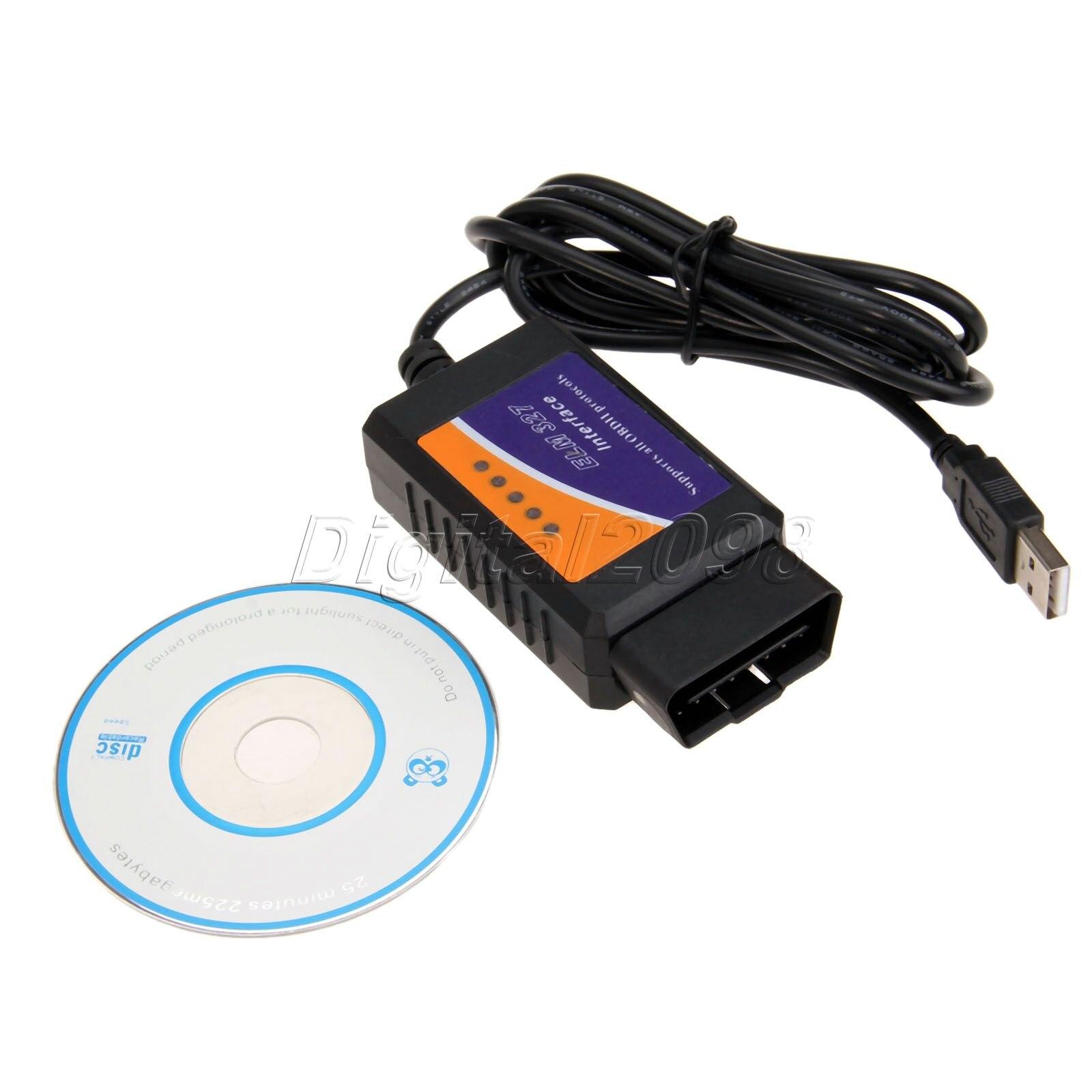 new elm327 usb v2 1 obd2 car diagnostic tool elm327 obdii can bus scanner auto diagnostic. Black Bedroom Furniture Sets. Home Design Ideas