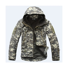 Camping Jacket with Military Print