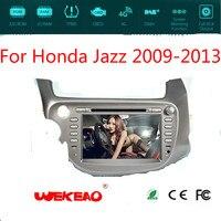 Wekeao автомобильный мультимедийный плеер для Honda Jazz 2009 2013 Поддержка онлайн карту Поддержка Vedio/Радио Играть с gps навигации Системы