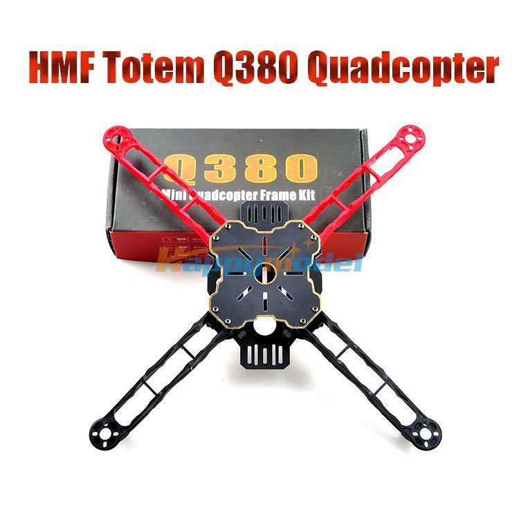 Quadcopter Batter F330 Than FPV Frame Q380 Light-Weight Totem Multirotor High-Strength