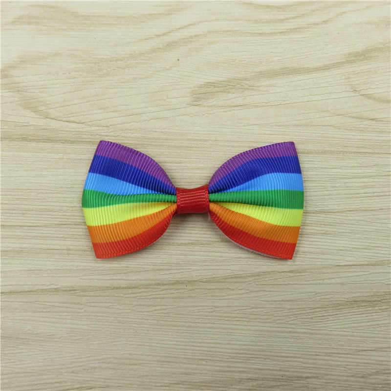 1PCS Solid Colorful Elastic Hair Bands Girls Ribbon Bows Girls Hair Circle Tie Rope Hair Accessories Gradient Best Holiday Gifts