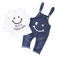 Dapchild Cotton Boys Suits Autumn Kids Clothes Sets Children Casual Sport Suit 2 Pcs Baby Outwear
