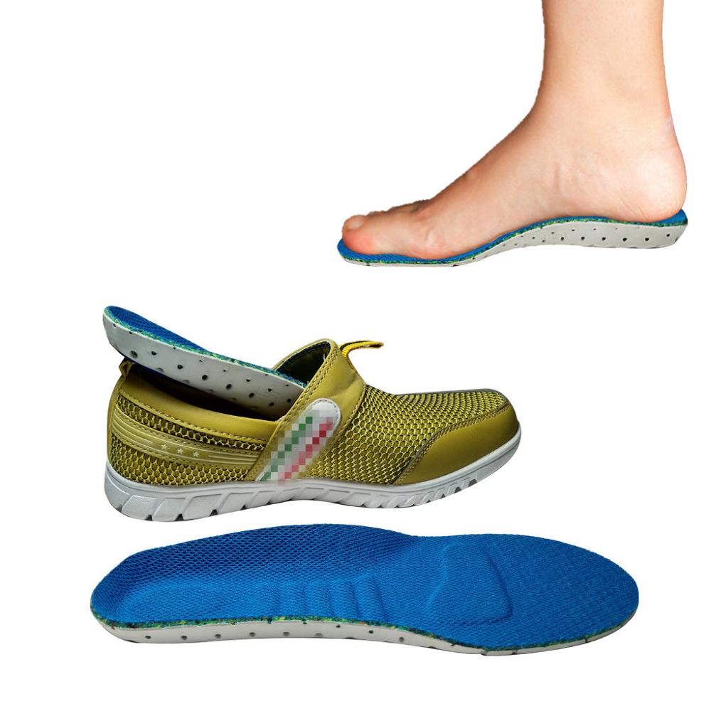 Unisex Sport Shoes Pad Insoles Thickening Shock Absorption Basketball Football EVA Running Soft Insole