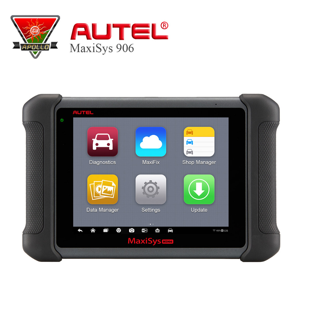 Original AUTEL MaxiSys MS906 Wireless Car Diagnostic Tool obd2 MaxiSys Scanner Better than MaxiDAS DS708 & DS808