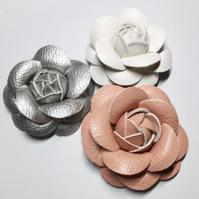 10pcs Umetna kamelija cvet šopek roža poročno dekoracijo dodatki - Prazniki in zabave