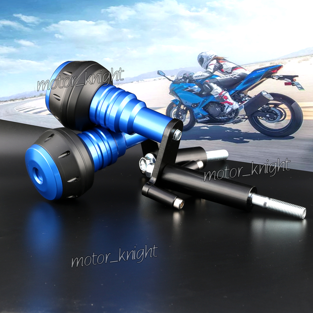New Motorcycle Body Aluminium Frame Slider Protector Crash fit Kawasaki ninja400 ER-4F 2018 2019