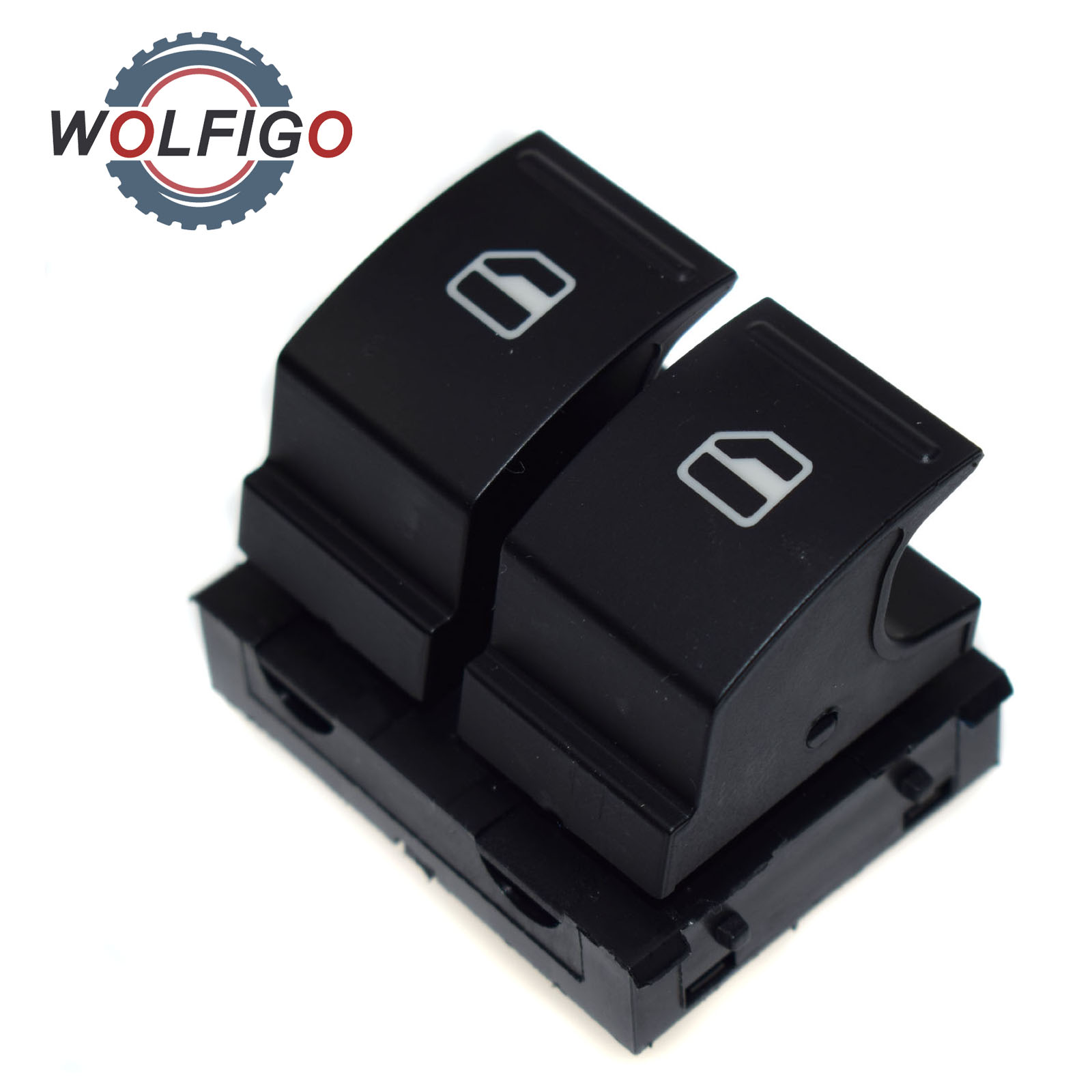 Wolfigo Driver Side Electric Power Window Switch 1k3959857a For Vw 2000 Ranger Siderelayspower Windowsthe Wireing Harness Golf Mk5 Passat B6 Variant Caddy 2k Jetta Eos Plus In Car Switches Relays From