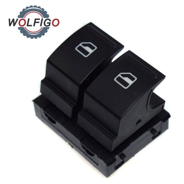 WOLFIGO Fahrerseite Elektrischen Fensterheberschalter 1K3959857A für ...