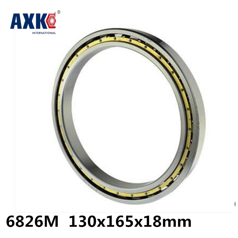 2018 Time-limited Top Fashion Steel Rodamientos Rolamentos 6826m Abec-1 130x165x18mm Metric Thin Section Bearings Cage 61826m 2018 hot sale time limited steel rolamentos 6821 2rs abec 1 105x130x13mm metric thin section bearings 61821 rs 6821rs