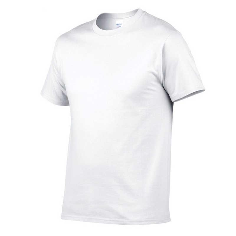 T ชายเสื้อสีทึบเสื้อยืดสไตล์เรียบง่ายชายแขนสั้น O คอ Plus ขนาด