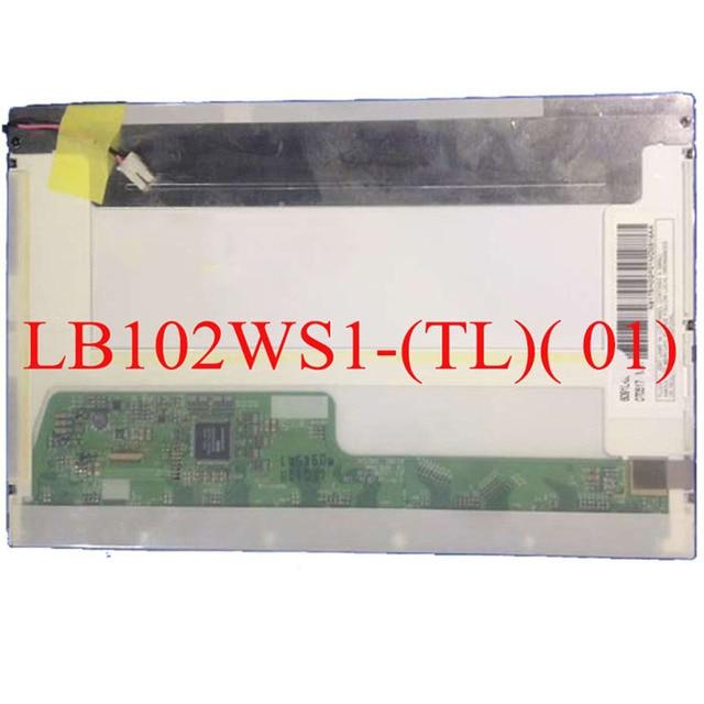 Free shipping LB102WS1 (TL)(01) lb102ws1 tl01 10.2 inch lcd matrix laptop lcd replacement display screen panel ccfl