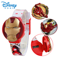 100% Genuine Disney Brand watch kids cartoon watches Iron Man watch 3 type cover 89004-60