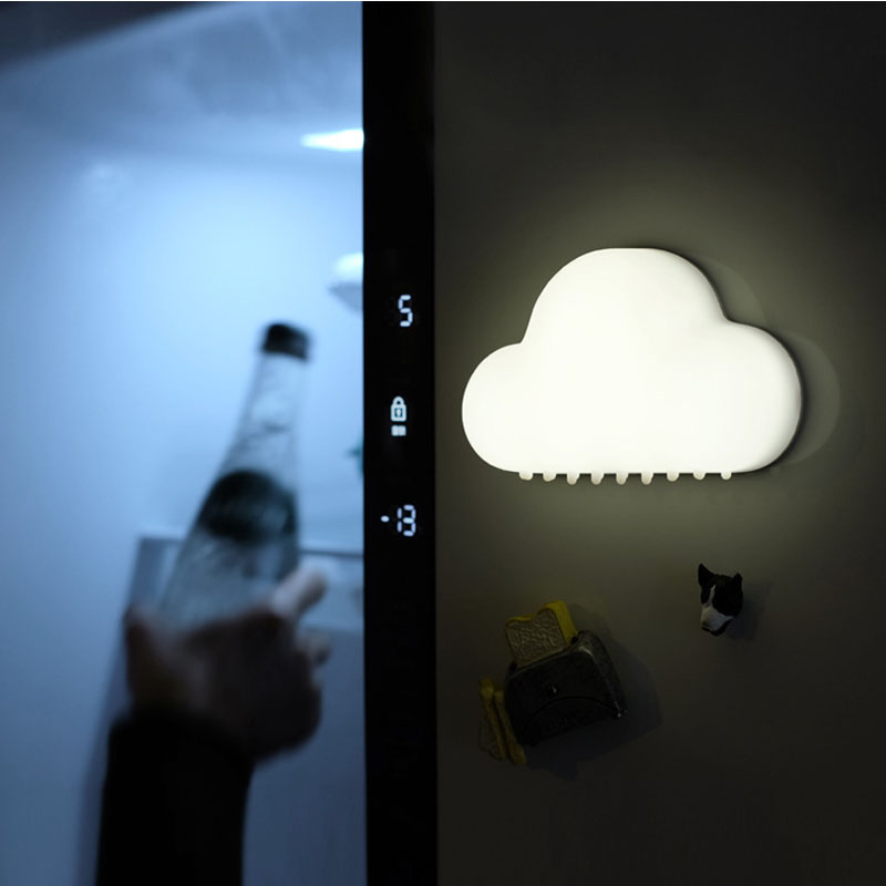 Nube Night Light Lámparas de pared inalámbricas LED USB Sensor de - Luces nocturnas - foto 5