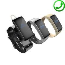 Original ZB66 Smart Talk Band Watch Bracelet Talkband Sport Pedometer Fitness Tracker Bluetooth Smartband For iOS
