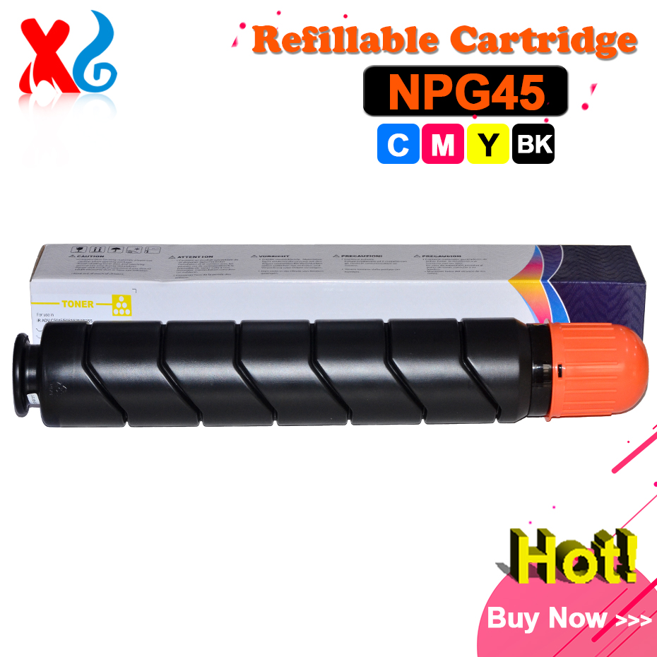 BK 980g CMY 667g GPR-30 NPG-45 Toner Cartridge for Canon iR ADVANCE C5045 C5051 C5250 C5255 C 5045 5051 5250 5255 C-EXV28 Toner rd ffcirc3100fu original fuser film unit for canon image runner ir c3100 3100 2570 npg23 gpr13 npg 23 gpr 13 npg 23 gpr 13