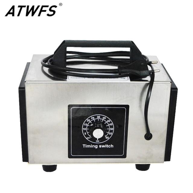 ATWFS 48g Ozone Generator 220v 20g/10g/h Air Purifier Ozonator Scent Machine Air Cleaner Ozon O3 Generator Ozonizer