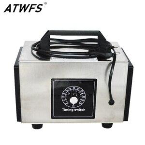 Image 1 - Atwfs 48g gerador de ozônio 220v 20g/10 g/h purificador de ar ozonizador máquina perfume ar mais limpo ozon o3 gerador ozonizador