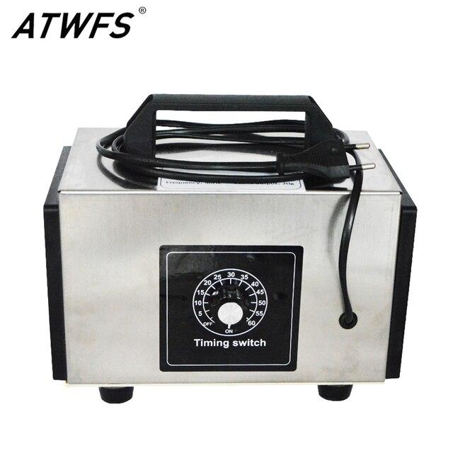 Atwfs 48g gerador de ozônio 220v 20g/10 g/h purificador de ar ozonizador máquina perfume ar mais limpo ozon o3 gerador ozonizador