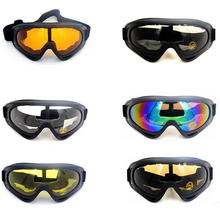 Winter Snow Sports Skiing Snowboard Snowmobile Anti-fog Goggles Windpr
