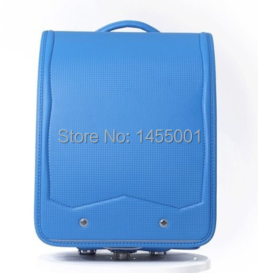 ФОТО coulomb BL.RS.0026  Randoseru for girls and boys school bag japanese bag fits for A4 file protect spine high quality