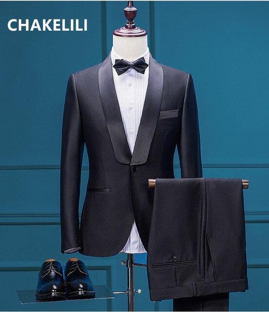 New Fashion Custom Made Wedding best man groomsman bride groom suit ...