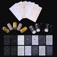 3D Nail Sticker Geometric Triangle Egypt Pharaoh Pasley Constellation Nail  Art Adhesive Holographic Transfer Sticker Decoration e2890f9e56d0
