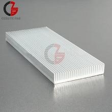 100x41x8mm di Alluminio del Dissipatore di Calore Del Radiatore Dissipatore di Calore per il Regolatore di Velocità di Circuito LED di Alimentazione del Driver IC transistor Computer