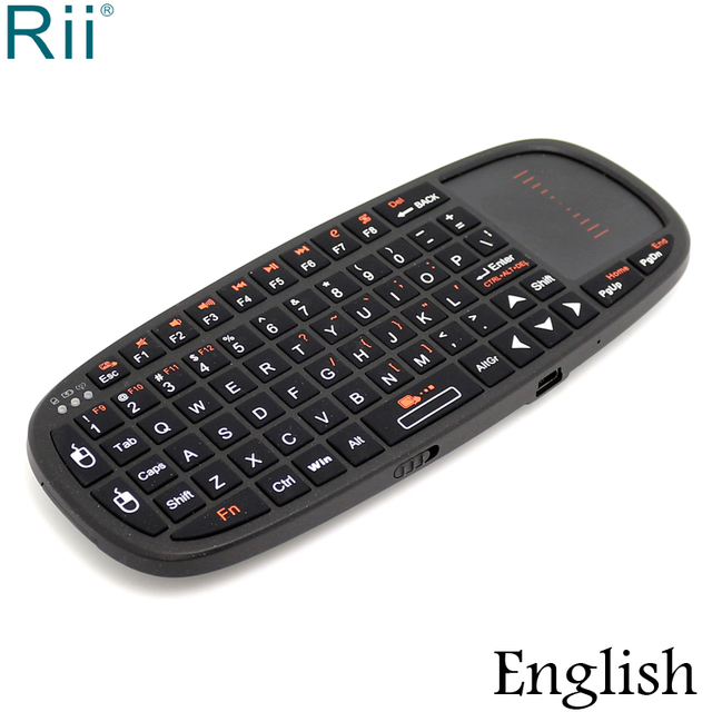 94344ba06fd Rii i10 2.4GHz Mini Wireless Keyboard Air Mouse with TouchPad for Andorid  TV Box/Mini PC/Laptop/Projectors