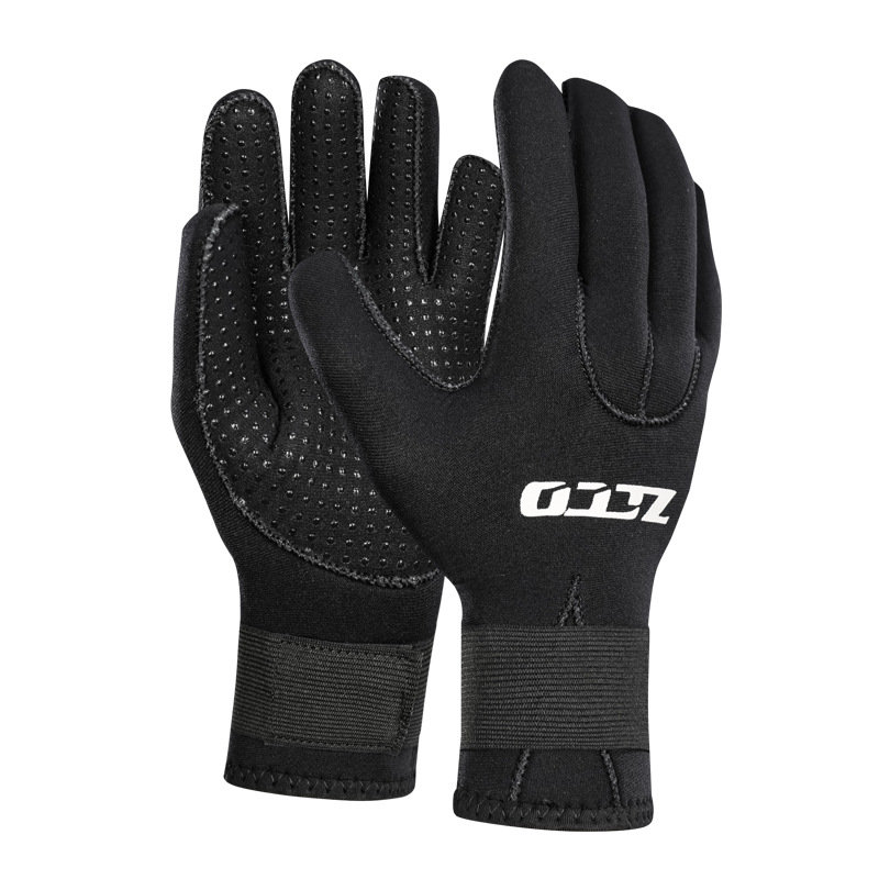 ZCCO 3mm 5mm Neoprene Diving Gloves Men Wetsuit Gloves Snorkeling Canoeing Gloves Women Spearfishing Underwater Hunting Gloves