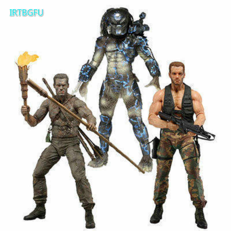 Predator 25th Anniversary Jungle Disguise Ontmoeting Nederlandse Water Opkomst Model Speelgoed Schaefer Action Collectible Beeldjes