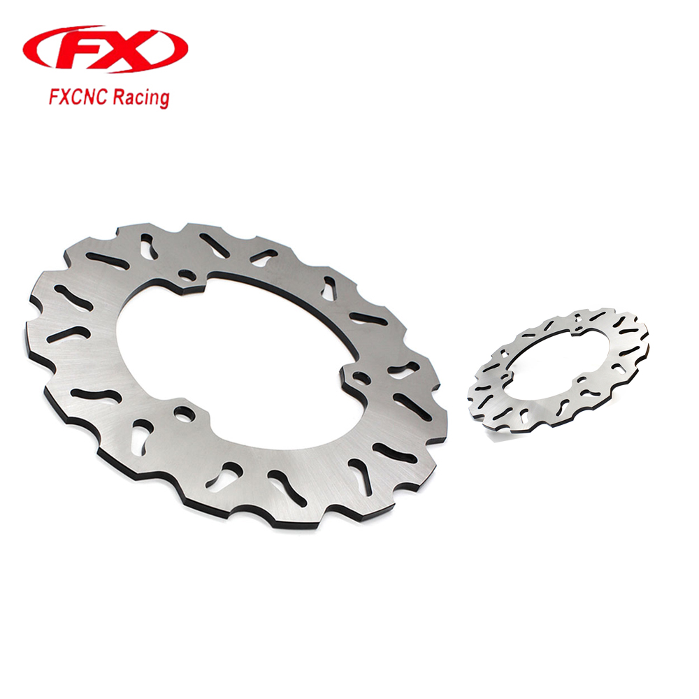FXCNC Motorcycle Brake Disc 220mm Floating Rear Brake Disc For YAMAHA R25 R3 2015-2016 Motorbike Front Brake Disc Disks Rotor