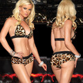 2017 lady Leopard Sexy Lingerie hot mulheres sexy underwear mulheres sexy lingerie erótica sexy leopardo costumes SZ208