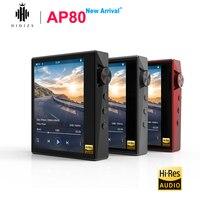 Hidizs AP80 высокого разрешения ES9218P Bluetooth с функцией подачи Хай Фай музыки и MP3 плеер LDAC USB DSD DAC 64/128 FM радио hibylink FALC DAP высокого разрешения Apt X