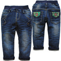 3845 upscale soft   baby boys jeans baby  jeans spring autumn  denim  navy  blue casual  kids pants baby trousers new not  fade