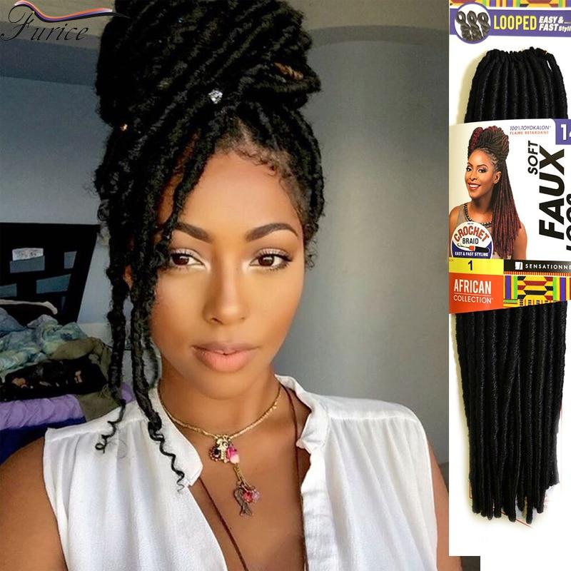 Faux Locs Blue Braiding Hair Ombre Braiding Senegalese