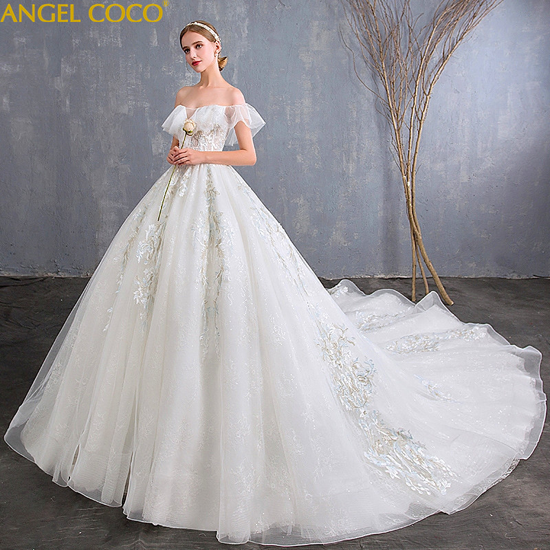 Sexy Strapless Maternity Dresses Pregnancy Wedding Dress Plus Size Women Clothing Long Tailing Pregnancy Maternity Bridal Gown