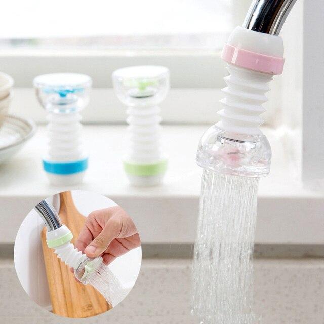 節水キッチン蛇口シャワータップノズル噴霧器調節可能な方向水タップフィルタースイベルスパウト浴室のアクセサリー