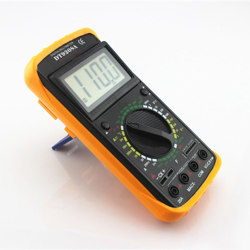 DT - 9208A Digital Multimeter Handheld Multimeter 9208 Multimeter