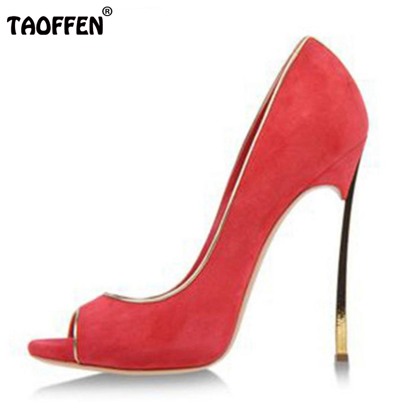 ФОТО Brand New Women Super High Heel Shoes Woman Sexy Open Toe Thin Heels Pumps Fashion Ladies Party Court Shoes Footwear Size 33-43
