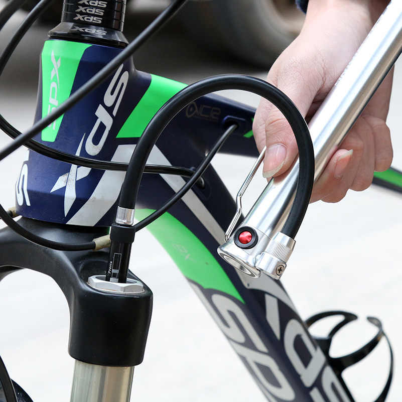 West biking велосипедный насос 160PSI портативный легкий алюминиевый сплав Schrader Presta ручка клапана надувной передний Велосипедная вилка насос
