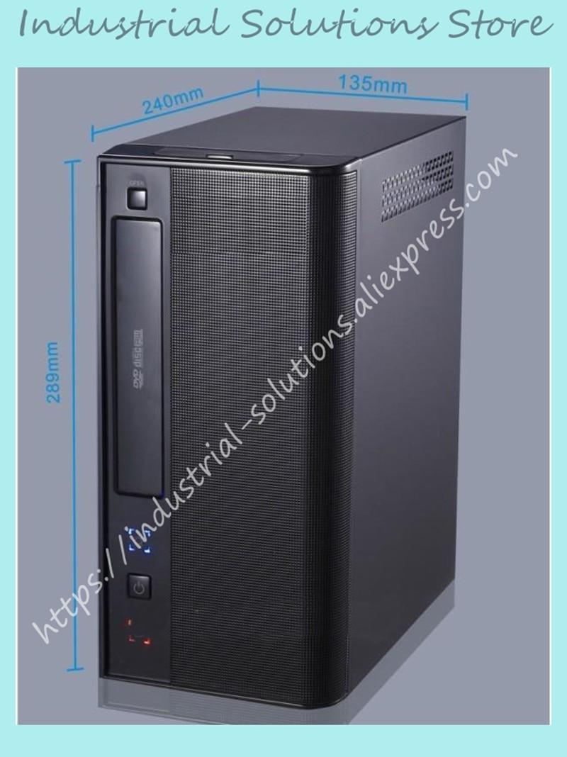 все цены на New Mini Computer Case Industrial Computer Case Htpc Hd Host Computer Case D525 D2700 Motherboard онлайн