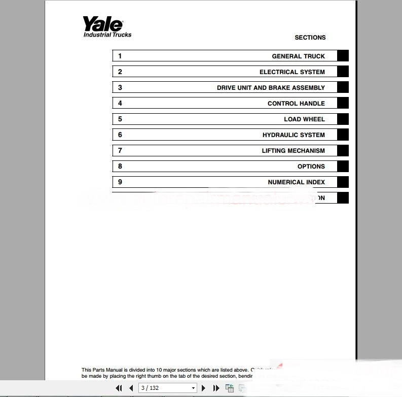 yale forklift parts manual pdf