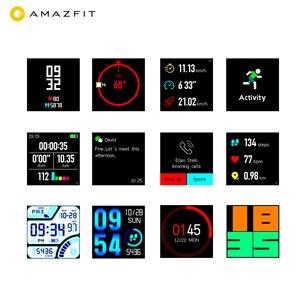 Image 4 - Huami Amazfit Bip inteligentny zegarek [wersja globalna] Smartwatch tempo lite Bluetooth 4.0 gps tętno 45 dni bateria IP68 wodoodporna