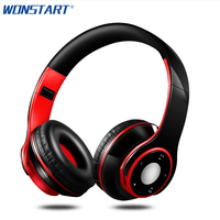 Wonstart Foldable Headphone Stereo Headset Subwoofer Deep Bass Headband Sport Earphones Auriculares For IPhone Mobile Phones