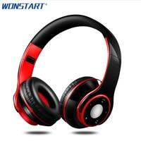 Wonstart Foldable Headphone Stereo Headset Subwoofer Deep Bass Headband Sport Earphones Auriculares For IPhone Mobile Phones