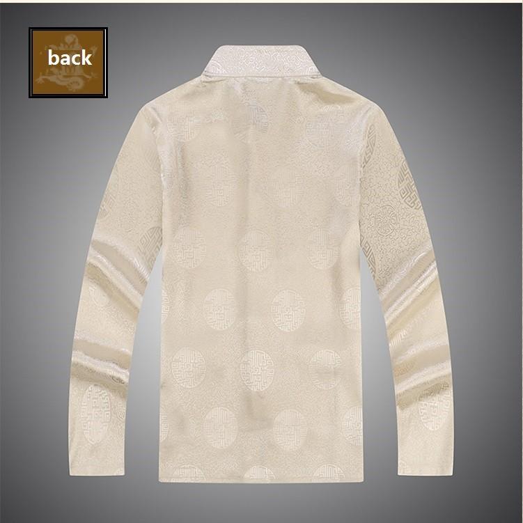 male cotton cheongsam blouse oriental clothes long sleeve cotton cheongsam blouse traditional mens clothes (8)